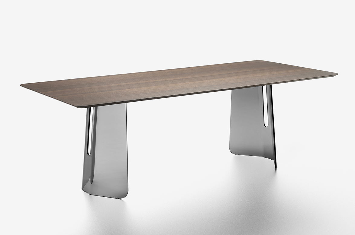 Pli collection by studio klass for fiam inspired by - Table studio ...