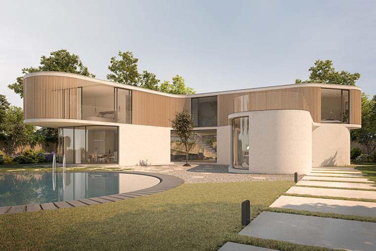 Casa K por AQSO, una arquitectura de curvas suaves y espacios fluidos