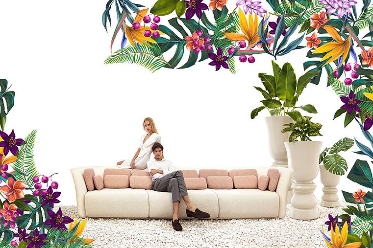 Suave, la sensual colección diseñada por Marcel Wanders para Vondom que desdibuja las fronteras entre mobiliario interior y exterior