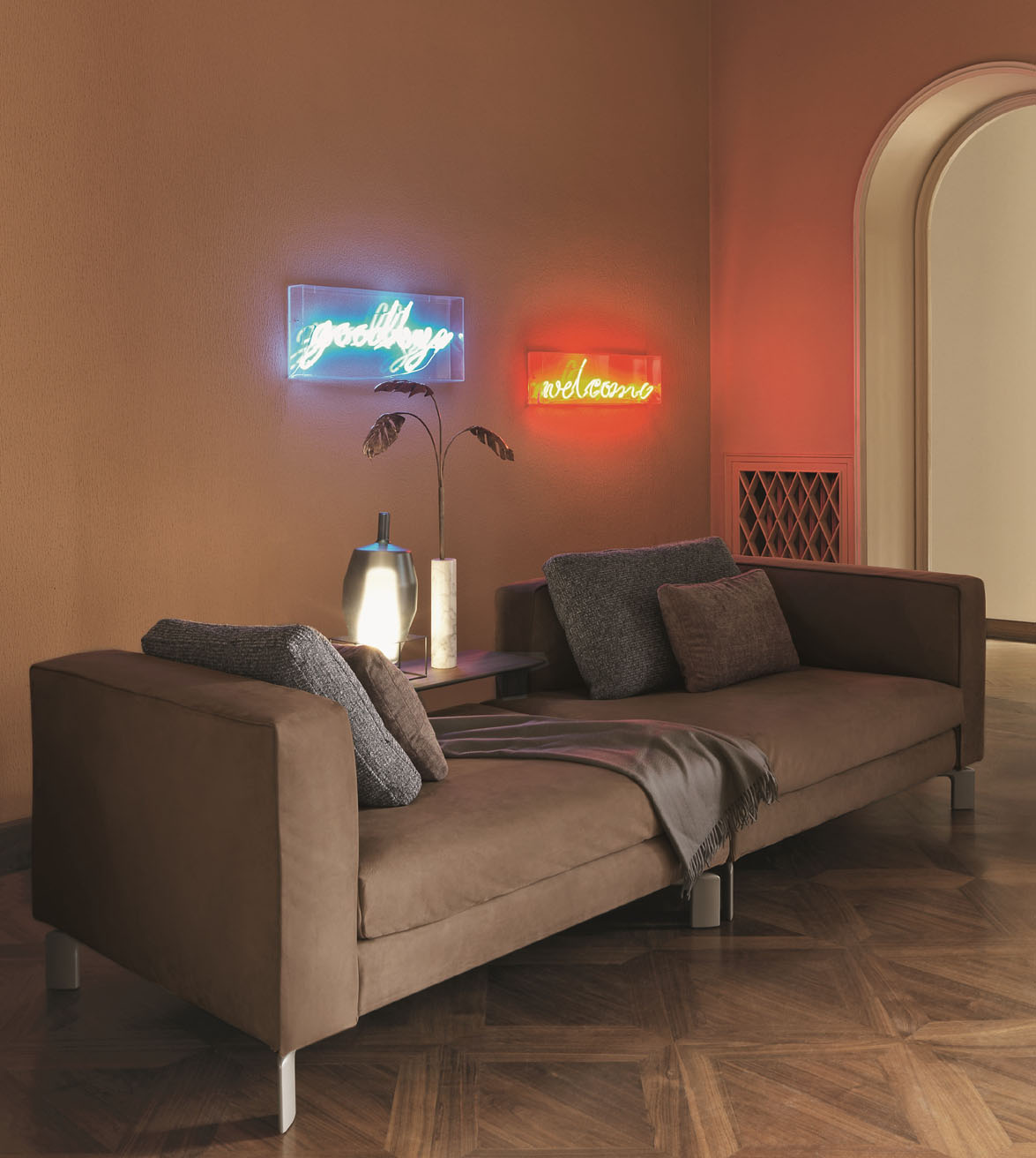 Divano flou simple divani letto divano letto piazzaduomo da flou with divano flou great divano - Divano modulare economico ...