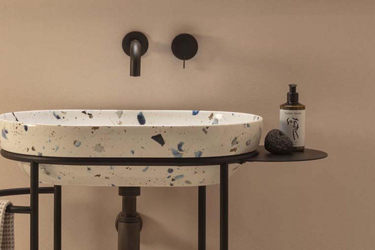 Anticipo Salone del Mobile 2020: La elegante simplicidad del mueble de baño Ring de Ceramica Globo