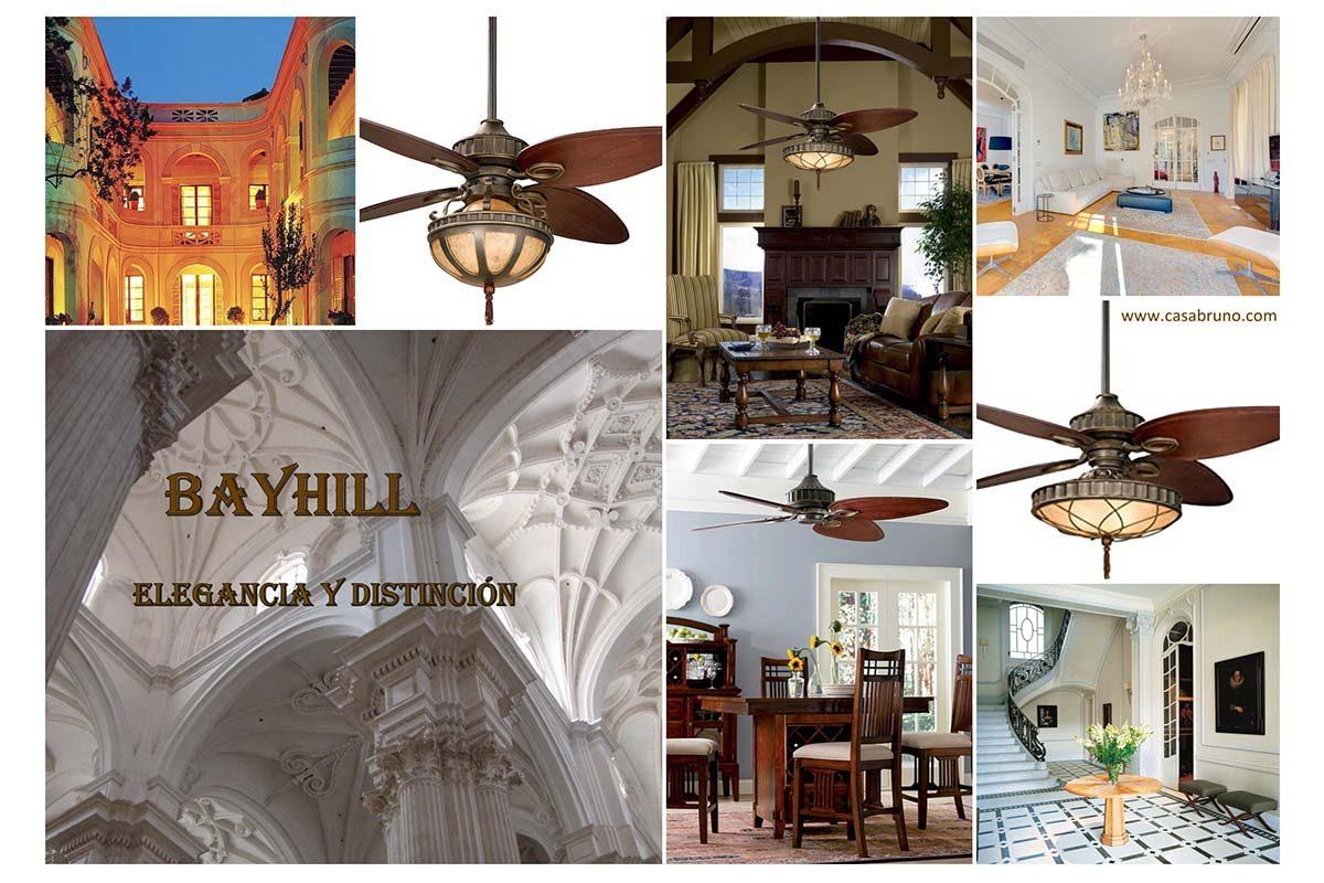 Ventilador Bayhill: elegancia, distinción y funcionalidad
