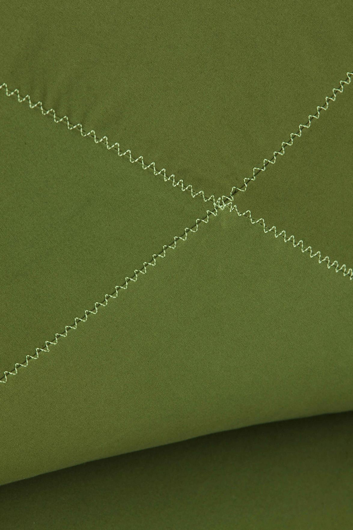 Grapy green cotton detail