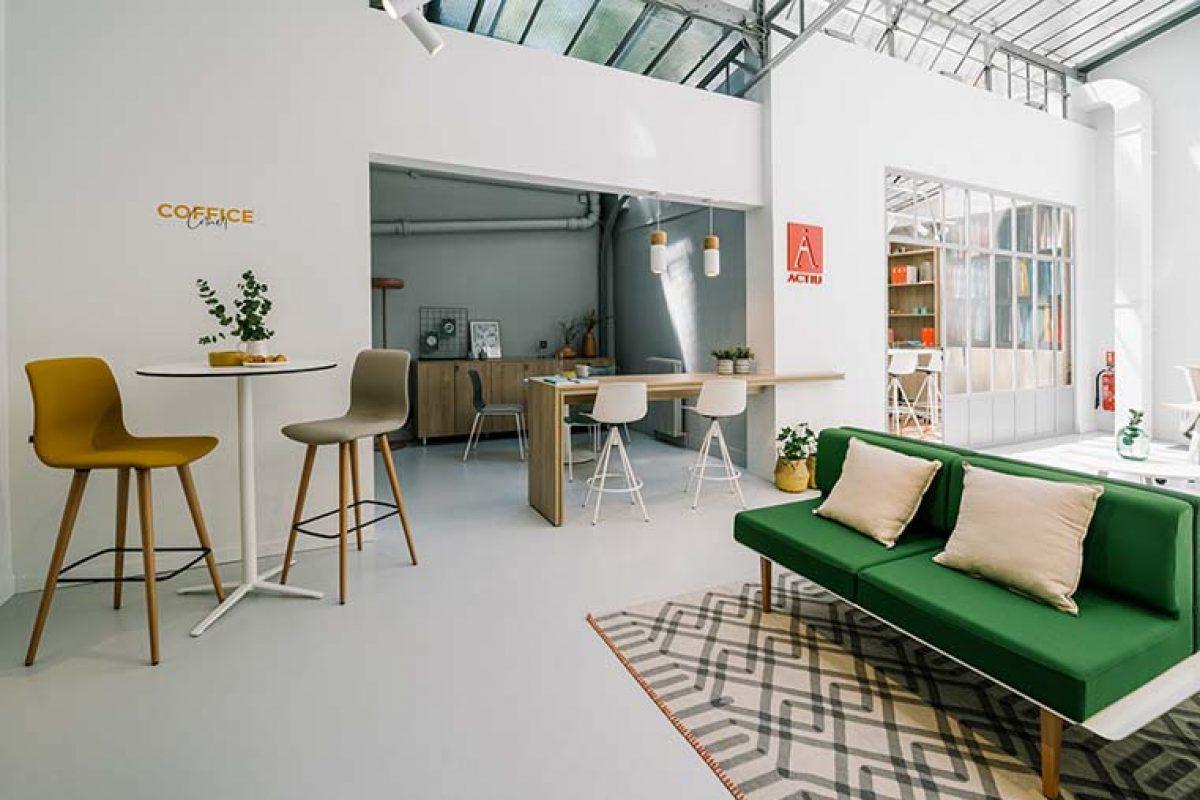 ACTIU instala su showroom parisino en el centro de la ciudad diseñado por Cosín