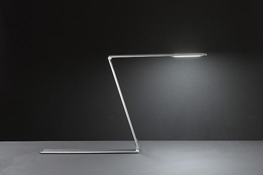 Lámpara de sobremesa Fitz, diseño arquitectónico con Led de Fabas Luce
