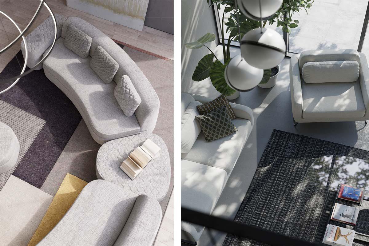 Alessandro Elli y Simone Micheli firman los nuevos sofás cama de Milano Bedding