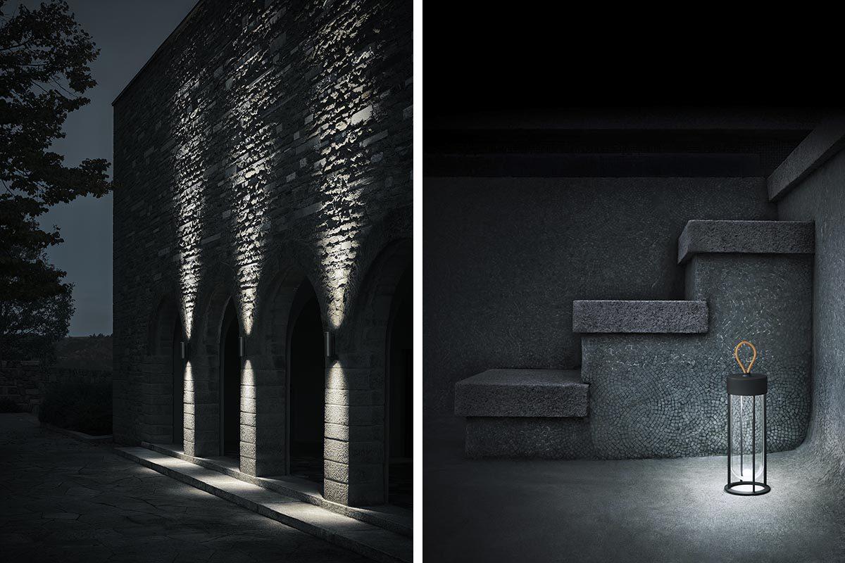 Lo nuevo de Flos para exterior diseñado por Piero Lissoni y Philippe Starck