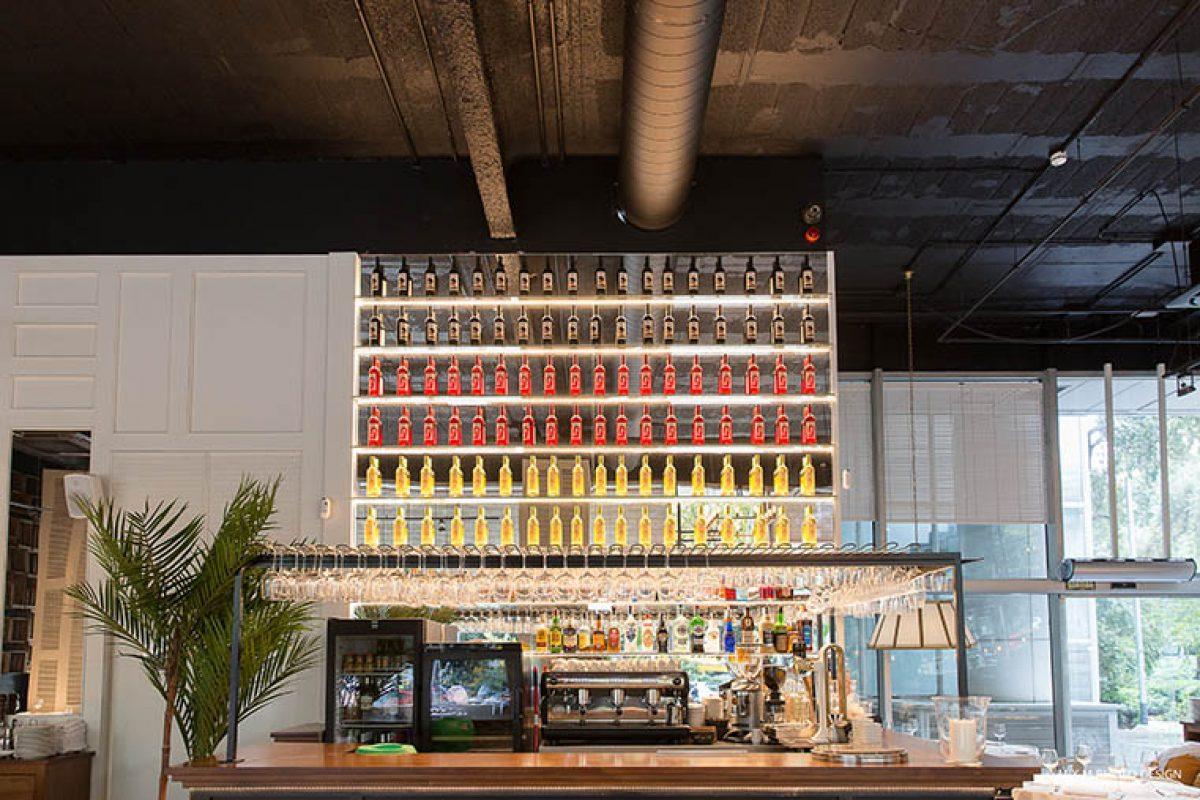 4retail materializa el proyecto del nuevo restaurante Casa Carmen de Barcelona. La luz natural como protagonista