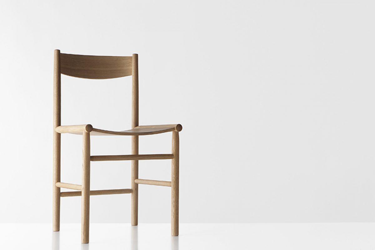Si unes el patrimonio finlandés en fabricación de sillas, el estilo Shaker y la tradición japonesa, obtienes Akademia, lo último de Nikari