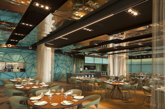Restaurante salt en barcelona reflejos marinos que fluyen