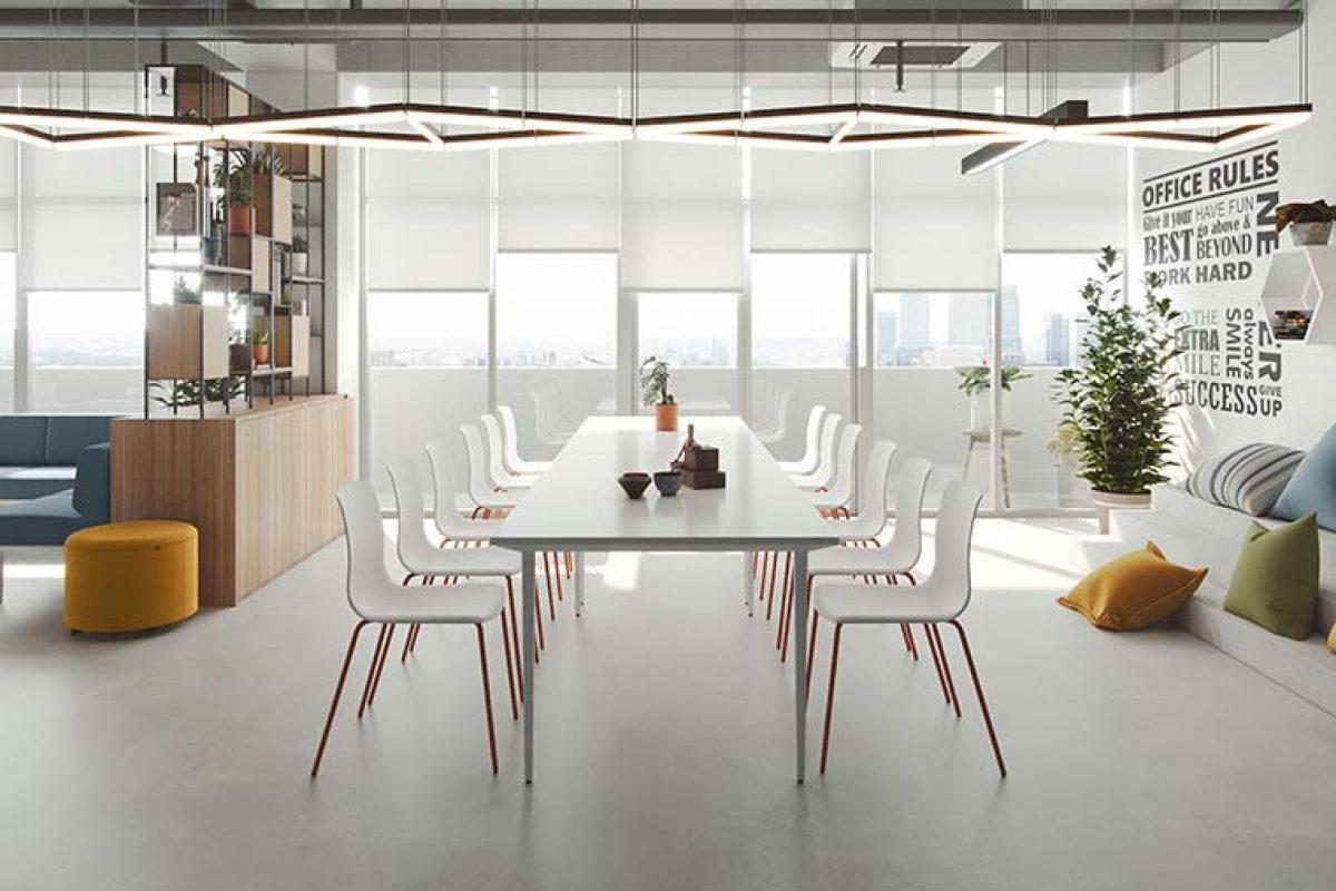 Nueva Noom 50 de Actiu, una silla versátil para entornos de trabajo, hogares y hospitality