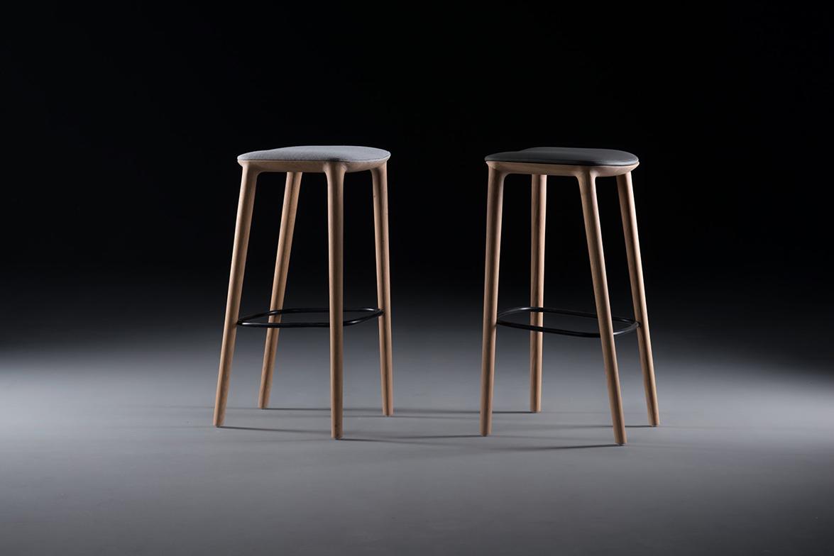 Neva (Bar stools) Artisan + Regular agency (Zagreb, Croatia)