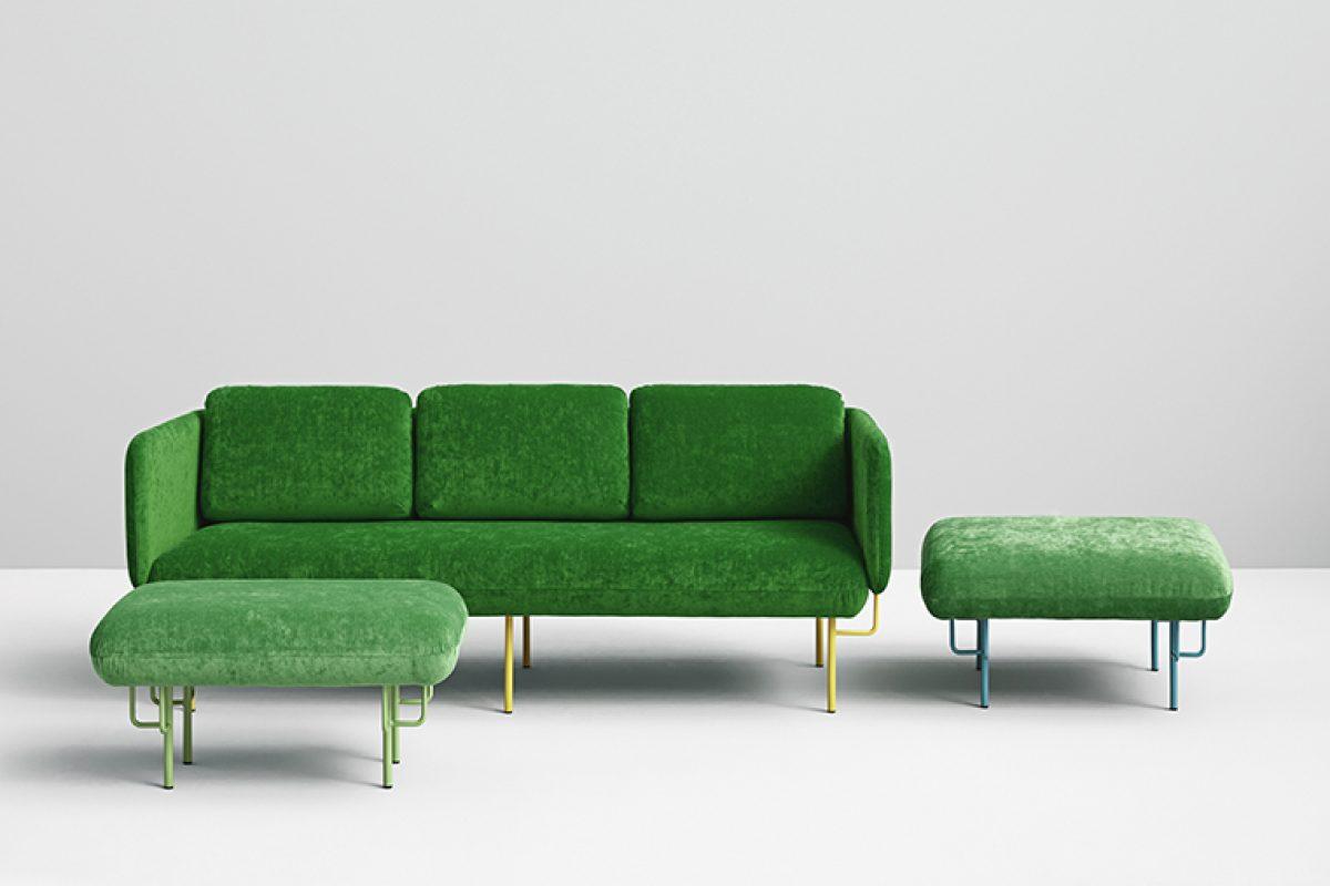 Missana amplía con dos nuevos pufs la icónica colección Alce diseñada por Chris Hardy