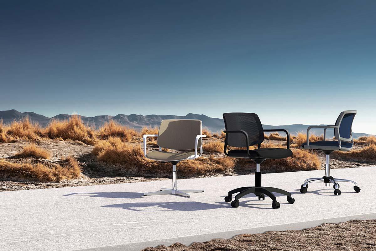 Barú de Ximo Roca, la silla adaptada a la versatilidad de la oficina en la nueva normalidad