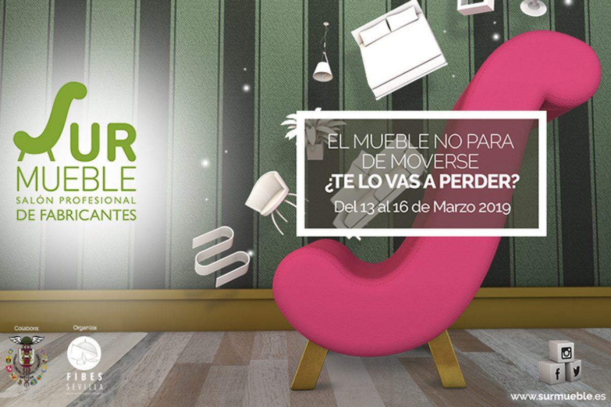 Surmueble, la gran cita del mueble del sur de España, regresa a Fibes del 13 al 16 de marzo