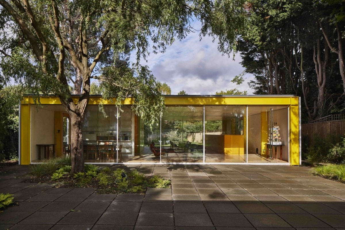 El estudio Gumuchdjian Architects moderniza la Casa Richard Rogers en Wimbledon y para ello cuenta con la tecnología HI-MACS®