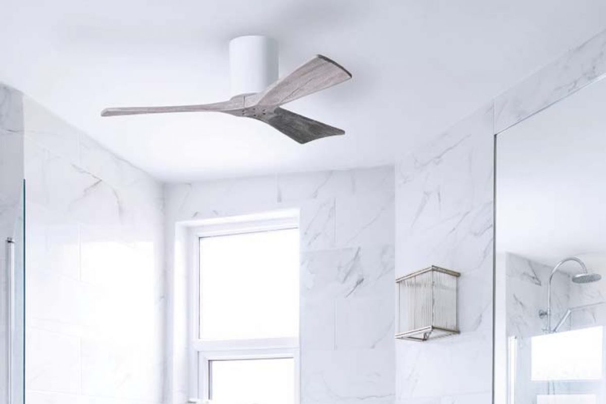 El diseño personalizado nunca fue tan fácil con el ventilador de techo Irene Hugger