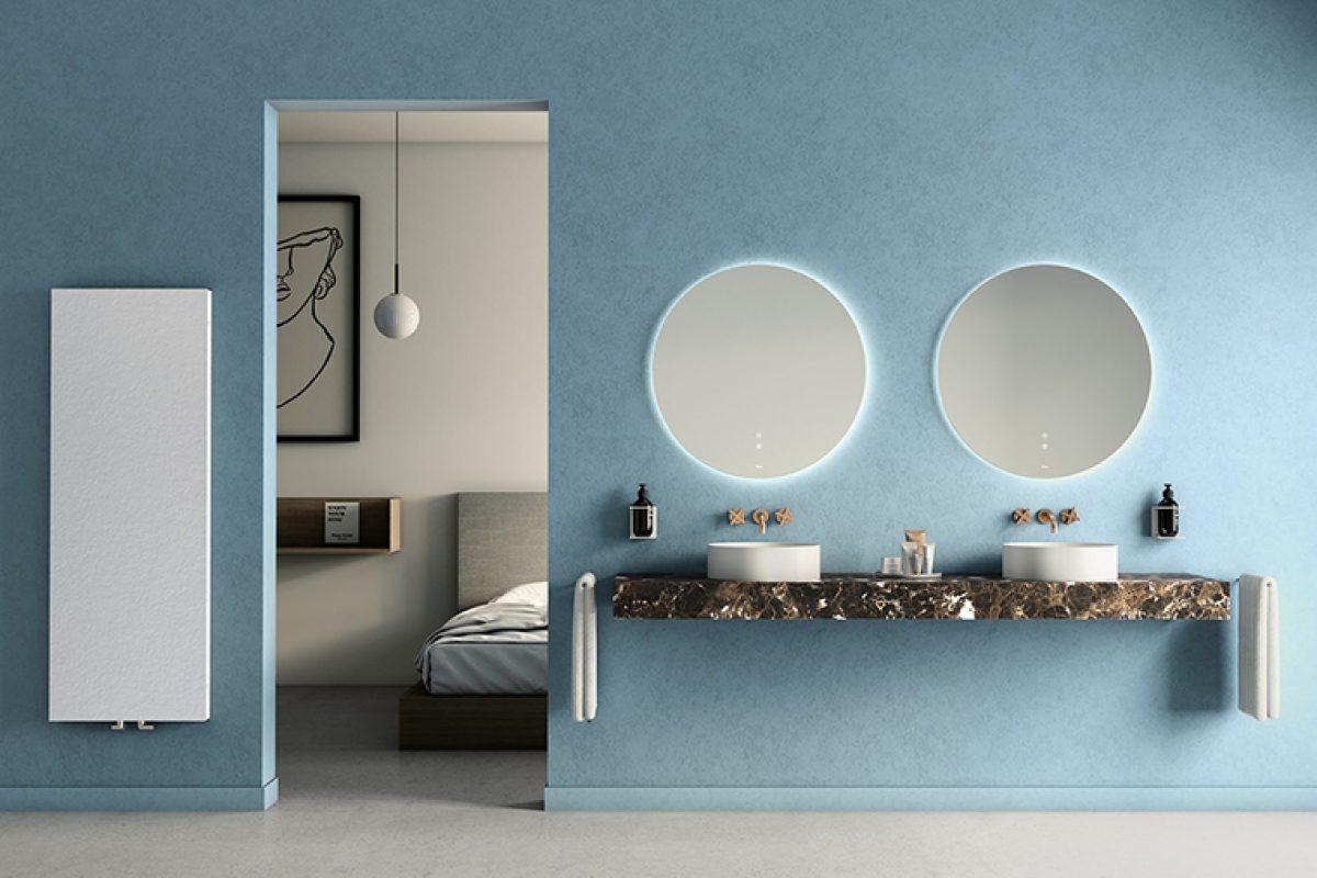Fiora presenta sus tendencias para el baño en Cersaie 2019: combinación de materiales y color block