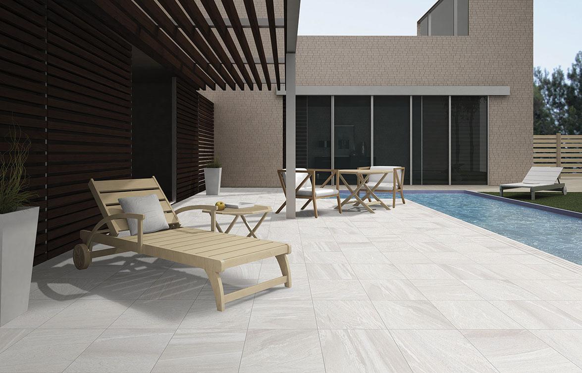 Propuestas y tendencias de verano para revestir los suelos for Suelos de ceramica para terrazas