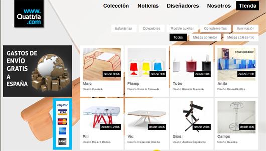 Quattria la primera editora de dise o de mobiliario for Mobiliario diseno online