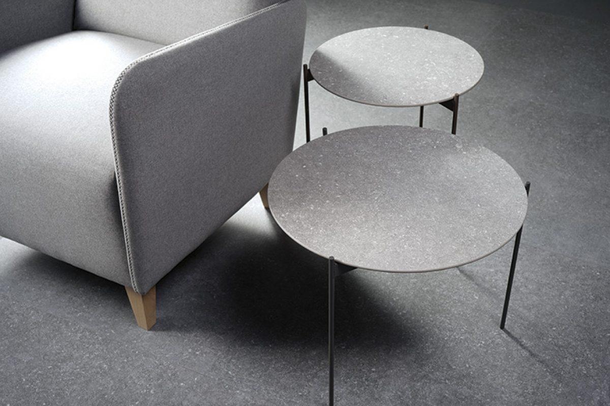 Lamiker de Azuvi, el super versátil porcelánico de gran formato para fachadas, pavimentos, revestimientos, encimeras o mobiliario