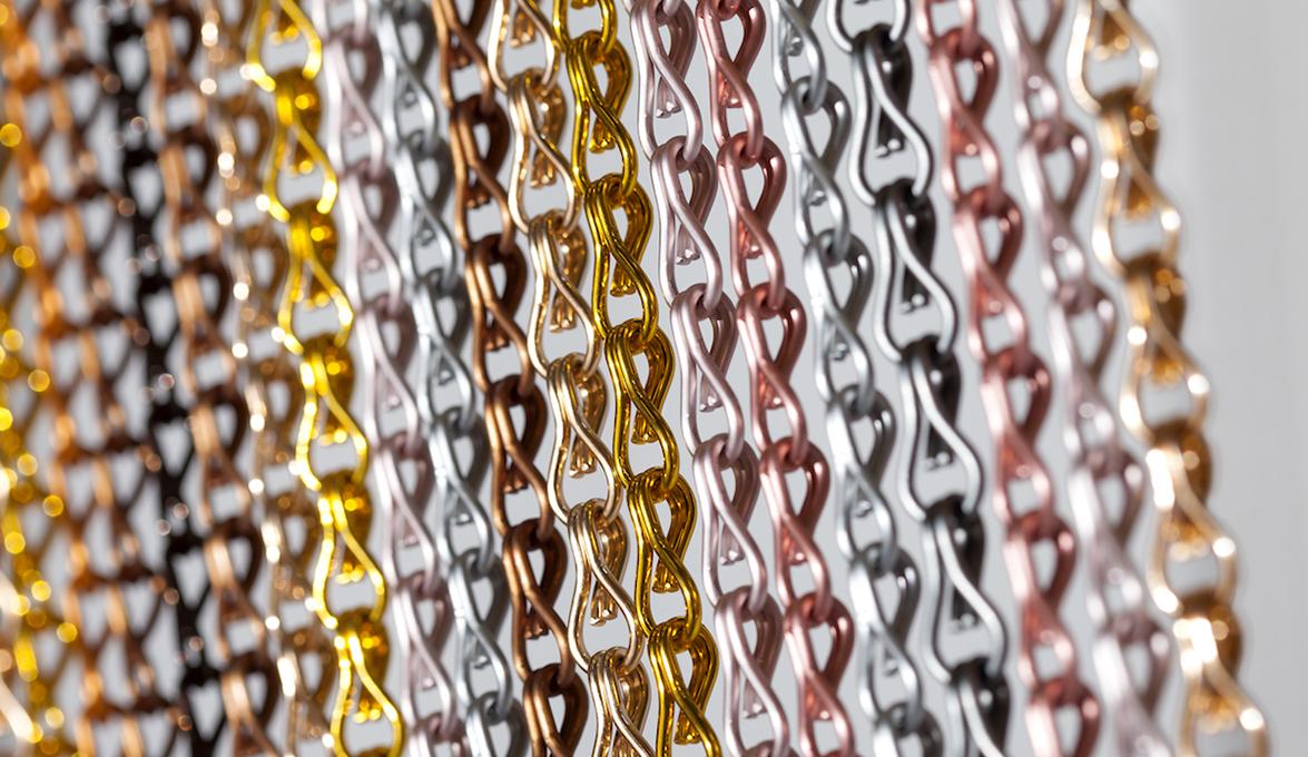 stripes detail curtain