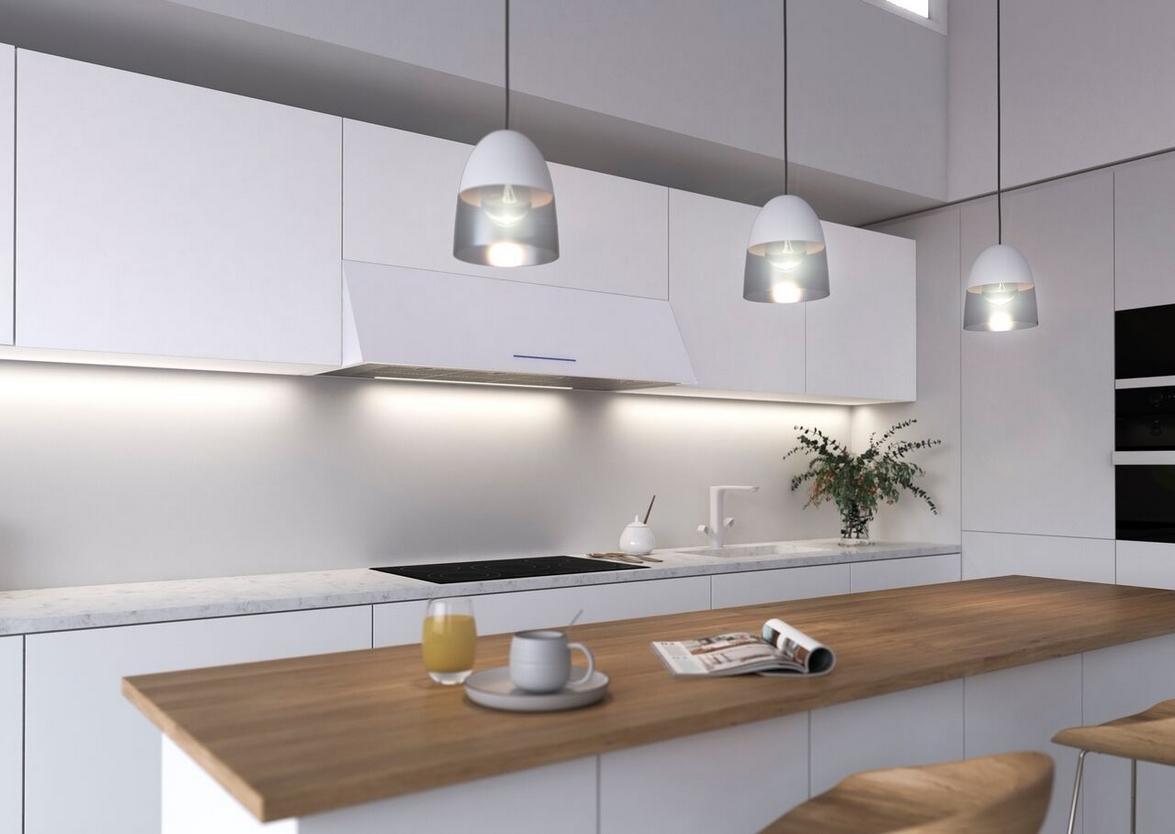 Adorna tu cocina con P-2010, la versátil campana de pared creada por ...