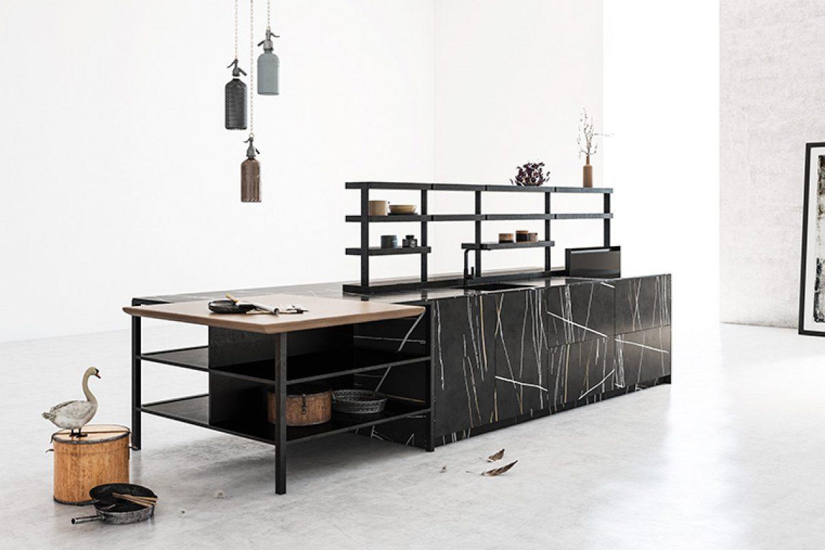 Rekker presenta Roka, una cocina moderna y muy arquitectónica