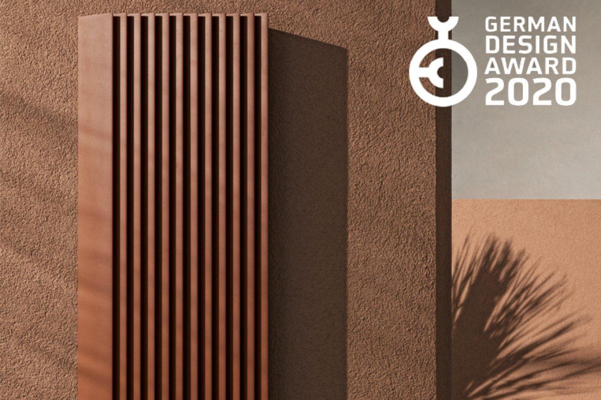 Radiador Step-by-Step de Tubes, ganador de un German Design Award 2020 por su sorprendente diseño laminar