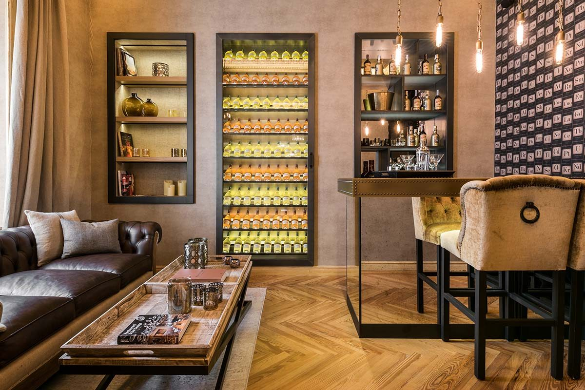 Las vinotecas diseñadas por Knowhaus. Creaciones a medida para el disfrute del «Bon Vivant»