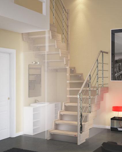Rintal nos muestra las novedades en escaleras y altillos for Escaleras rintal