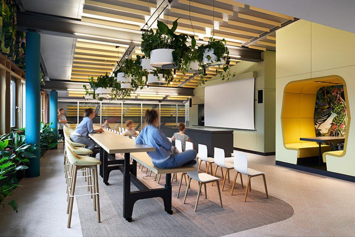 Ippolito Fleitz Group y Porsche Consulting crean un lugar de trabajo fascinante: Roman Klis Design, las Maldivas del diseño
