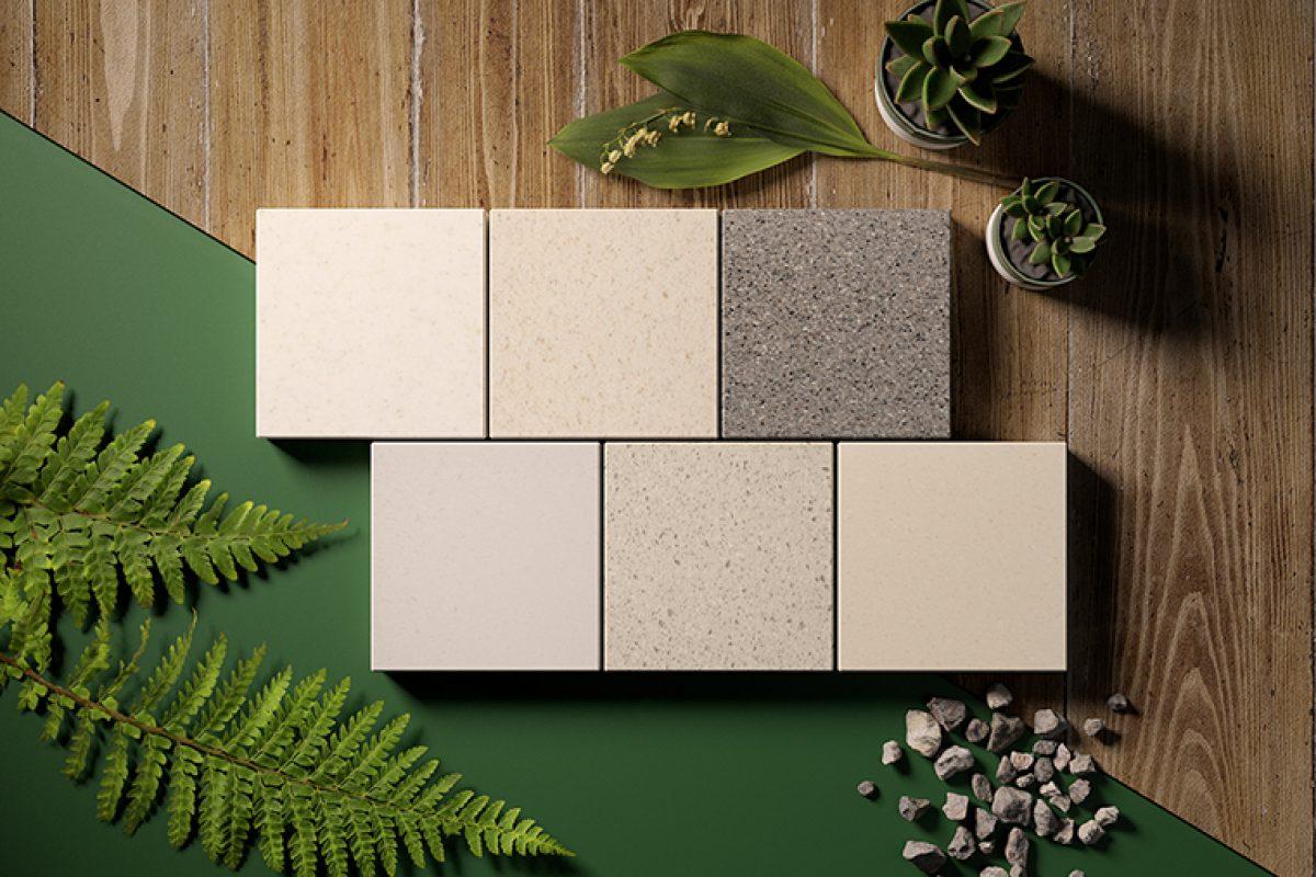 HI-MACS® se centra en la sostenibilidad con la presentación de sus nuevos colores reciclados