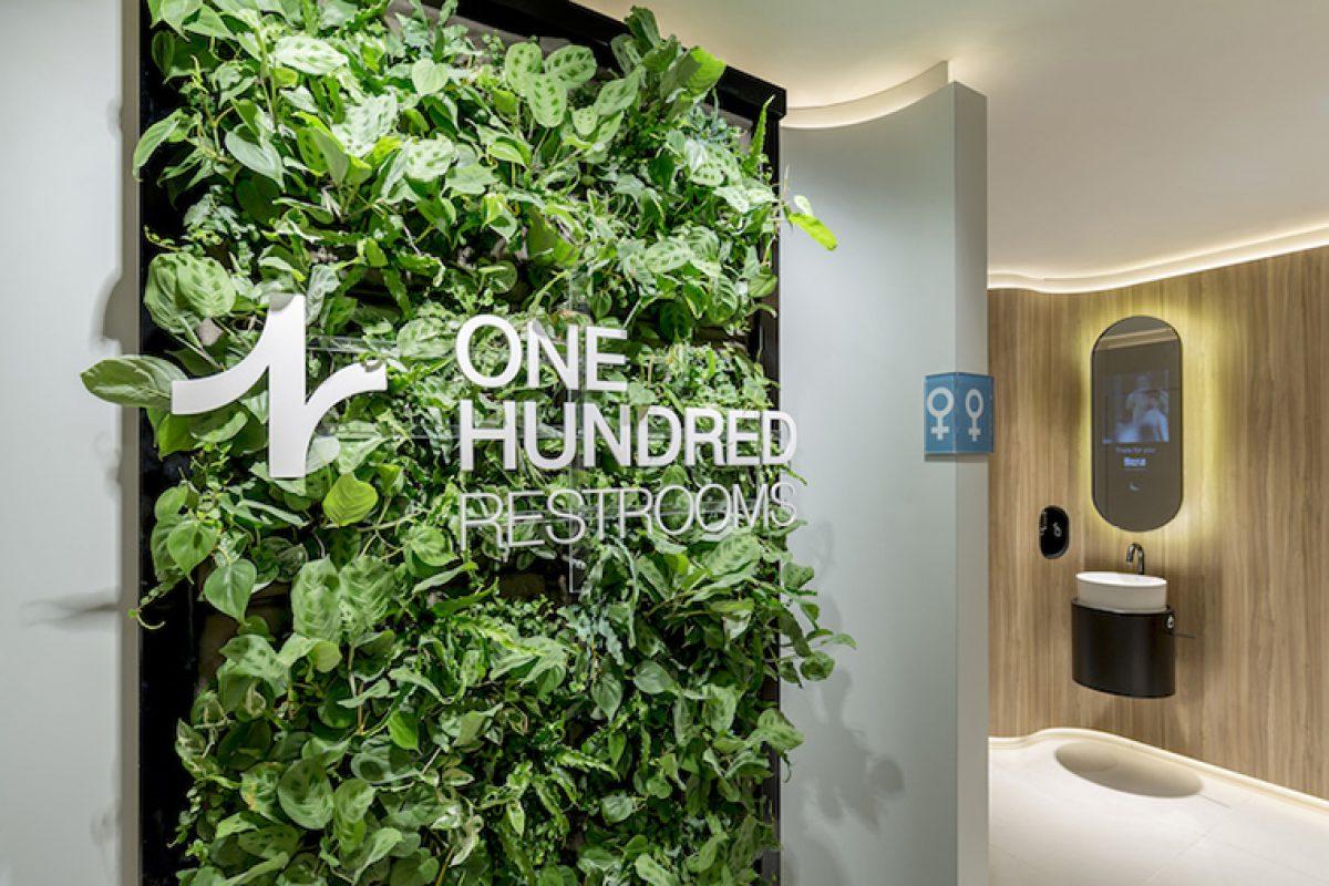 One Hundred Restrooms, el nuevo concepto de baño público enfocado a cuidar de la salud y el bienestar de sus visitantes