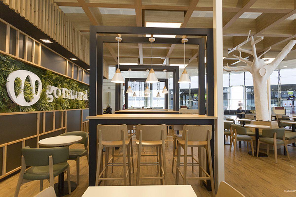 4Retail ejecuta las obras del innovador restaurante de comida rápida saludable Go Natural en el Aeropuerto de Barcelona-El Prat