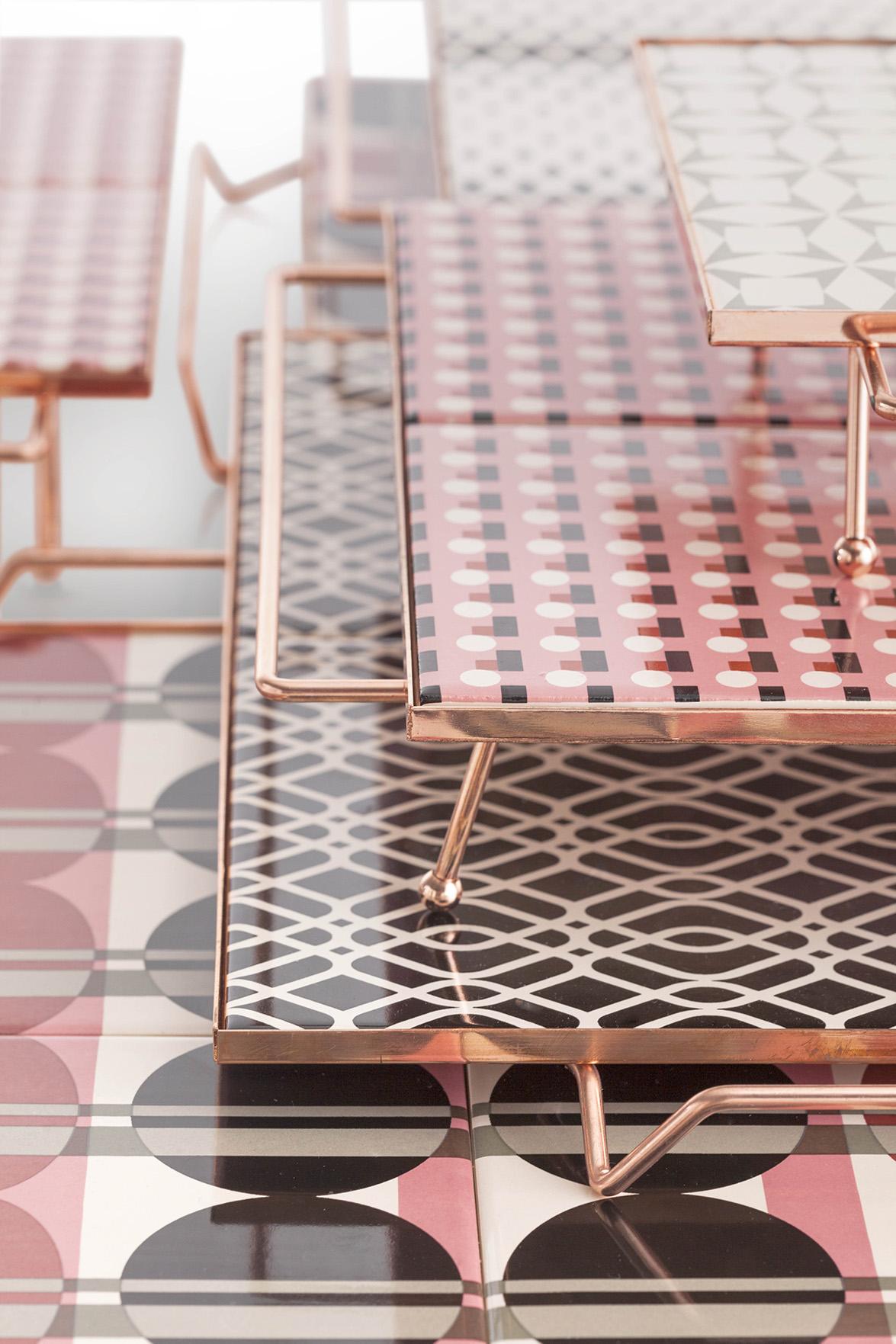 M&M Big Composition Pink-Black-Grey Detail 3