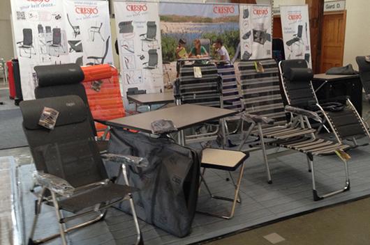 El Mobiliario Para Camping De Crespo Triunfa En Alemania