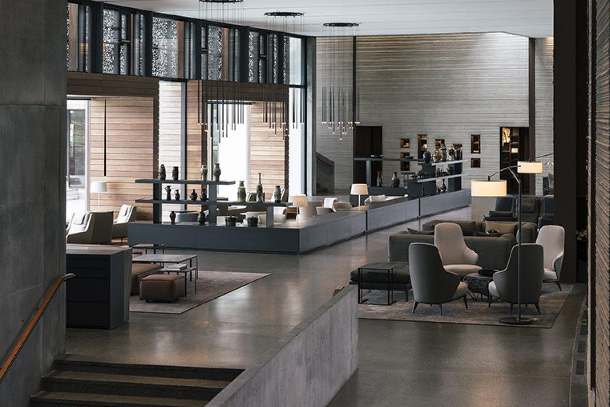 Las elegantes luminarias de  Vibia visten el espectacular Retreat Hotel en Blue Lagoon