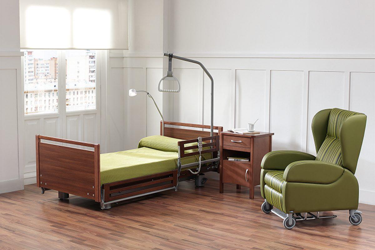 ND Mobiliario y Equipamiento Integral desarrolla una nueva cama geriátrica funcional, adaptada a las necesidades de los pacientes con Alzheimer