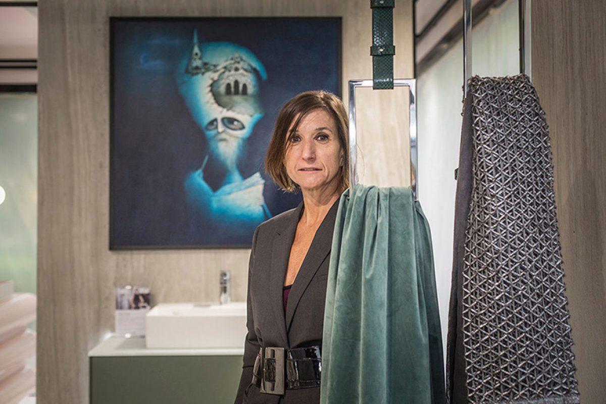Entrevista con Sara Folch, diseñadora de un concepto de baño abierto con toques sofisticados, para el nuevo showroom de Villeroy & Boch en Barcelona