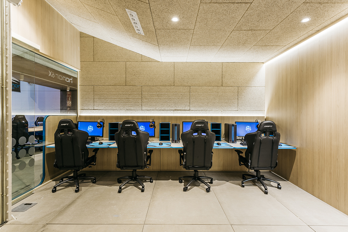 Movistar esports center the high performance center of for It design