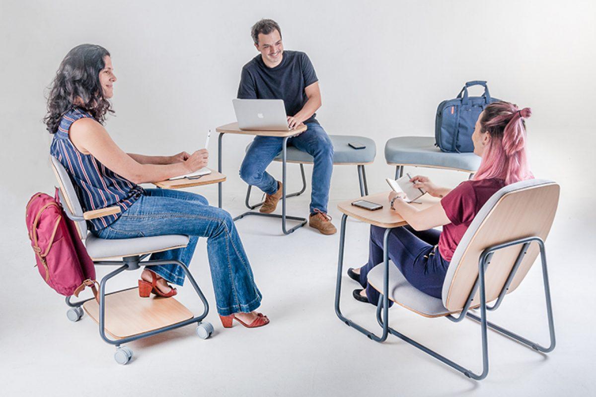 El grupo brasileño Maqmóveis hace su debut internacional en la Semana del Diseño de Milán con la innovadora colección Jataí