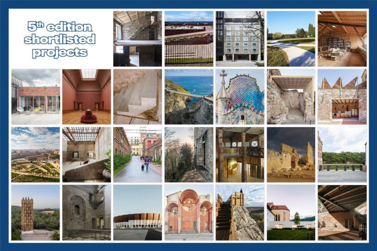 Seleccionados los finalistas del Premio Europeo de Intervención en el Patrimonio Arquitectónico