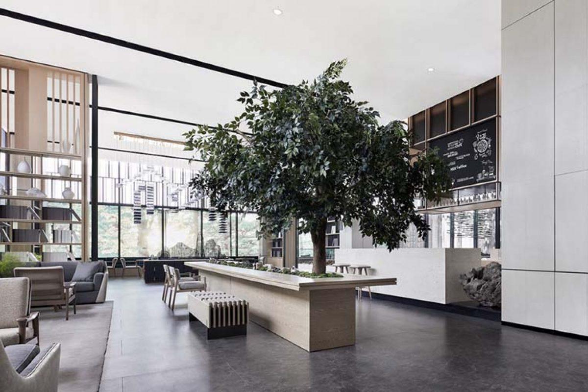 Mansión Yueshan por H Design & Everbon Group, existencia serena en el bosque urbano