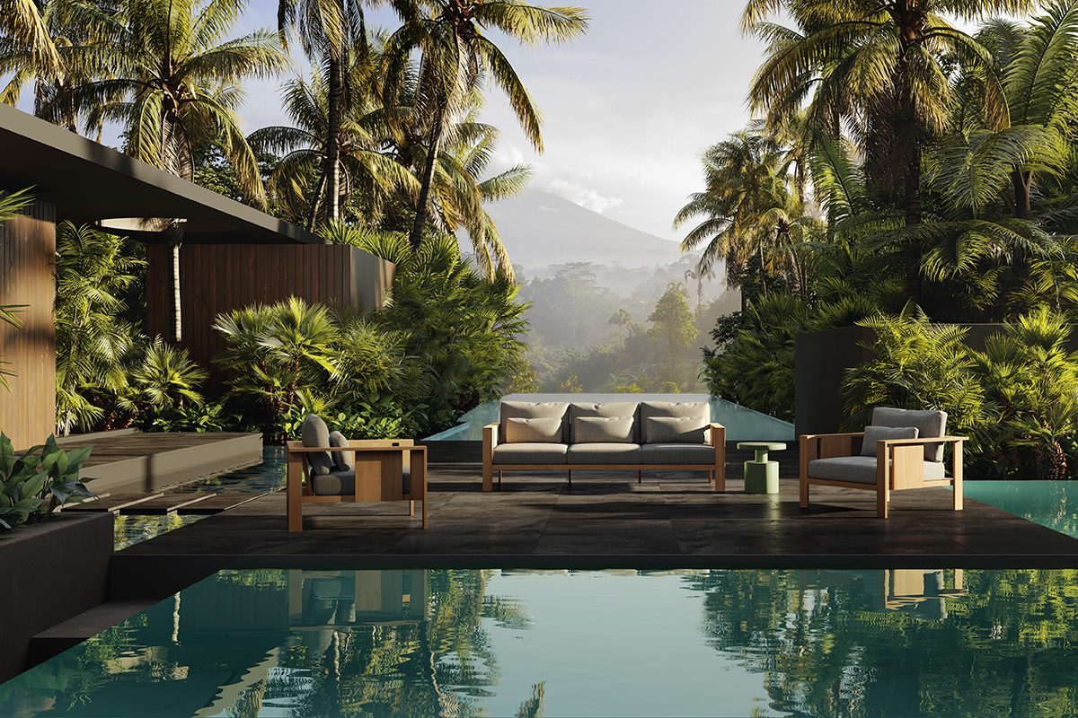 Beam, la nueva colección de mobiliario exterior de Francesc Rifé para Oiside