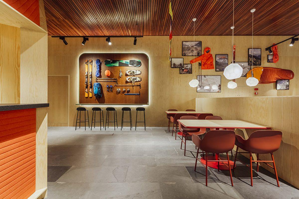 Stone Designs diseña el  Funicamp de Grandvalira. Una nota de color en las blancas montañas de Andorra