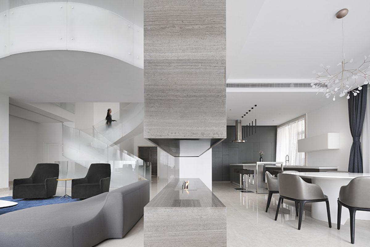 Kos Architects y Atelier Zerebecky diseñan la Villa Cloud en Shanghai. Vivir en las nubes