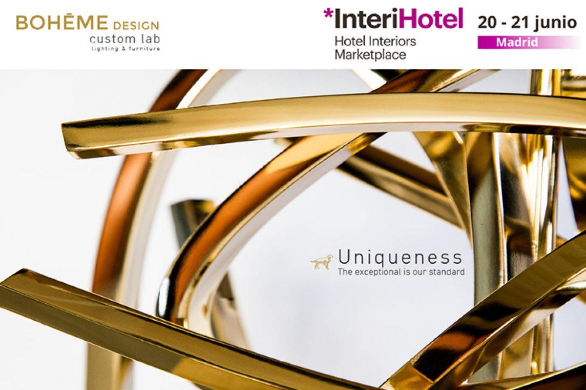 Boheme Design ILUMINA TU CREATIVIDAD en InteriHOTEL Madrid