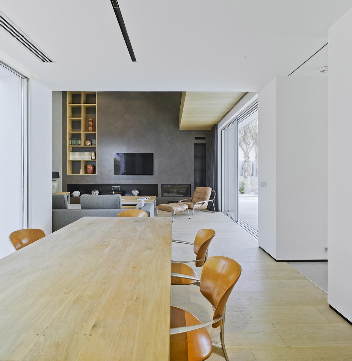 Villa z v de tom s amat estudio de arquitectura equilibrio minimalista y contempor neo en alicante - Estudio arquitectura alicante ...