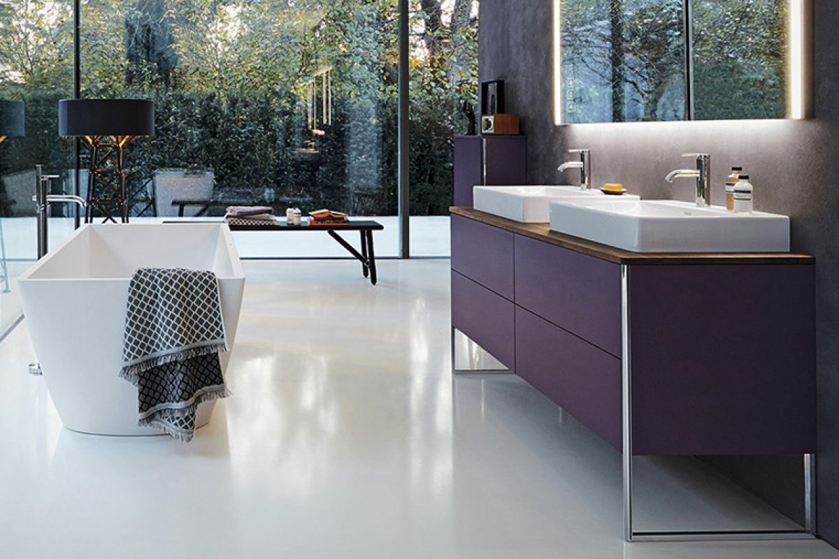El mueble de baño XSquare diseñado por Kurt Merki Jr para Duravit recibe un iF Design Award 2019